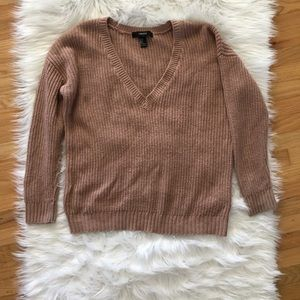 Forever 21 mauve color sweater size S